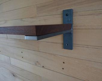 """Heavy Duty Steel Shelf Bracket 3/8"""" x 1-1/2"""""""
