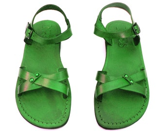 Leather Sandals, Leather Sandals Women, Sandals, Women's Shoes, ARIELA, Flip Flops, Biblical Sandals, Jesus Sandals