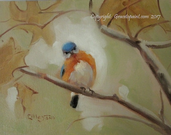 What Attitude?...Original Oil Painting by Maresa Lilley, SND