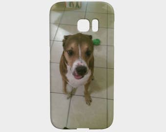 Cute Dog Phone Case - Galaxy S7 Edge - Device Cases - FREE SHIPPING WORLDWIDE - Kawaii - Scratch Resistant - Slim Case - Lexan Plastic - Pi