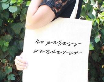 Hopeless Wanderer - Tote Bag - Mumford and Sons - Natural Color