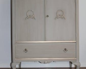 Vintage Chest/Tall Dresser/Bureau/Armoire