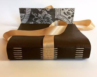 Custom Made Handbound Leather Journal