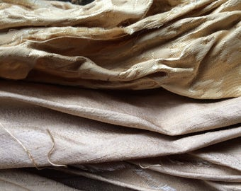 Scraps of Gold Fabric