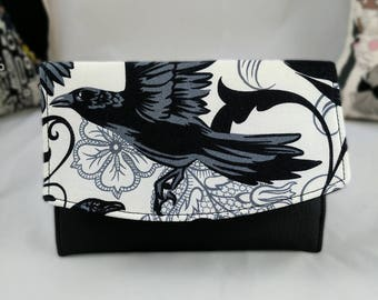 Black and White Goth, Raven Boon Wallet