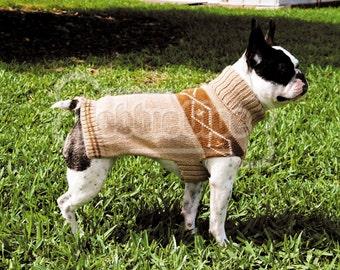 Bobbie Huari Sweater - English style in beige/brown