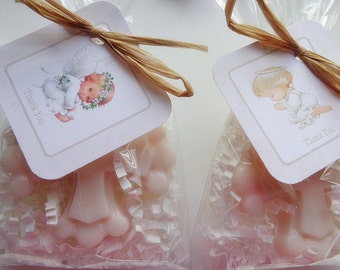 10 Cross Soap Favors, Baptisms, Religious, Special Occasions, Easter, Christmas Favors