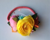 Floral headband RTS