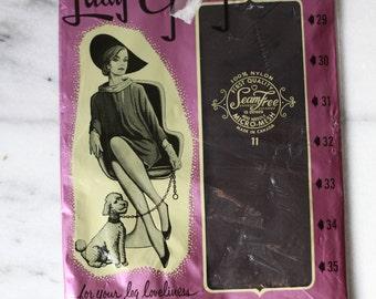1960s Lady Gray nylons // deadstock hoisery // vintage nylons