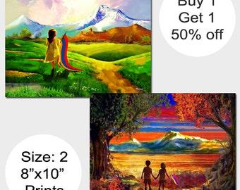 Bogo, Armenian Gifts, Digital Art, Armenian Art, Paintings, Armenian Paintings, Children of Armenia, Masis Ararat, Mount Ararat, Ararat