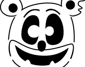Gummibär (The Gummy Bear) Jack-O'-Lantern Stencil Download~ Halloween ~ Pumpkin
