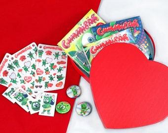 Gummibär (The Gummy Bear) Valentine's Day Heart Box ~ Gift Bundle ~Limited Edition