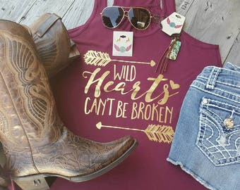 Wild hearts can't be broken tank