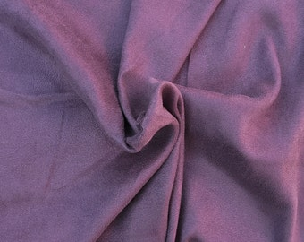 Micro Suede Faux Suede Fabric by the Yard Light Plum 1/17
