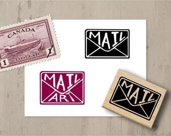 Envelope Mail Stamp, Mail Art Stamp, Postcrossing, Mail Exchange Stamp, Travel Stamp, Postcard, Mail Rubber Stamp, Penpal Mail Exchange 027