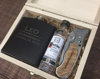 gift ideas for groomsmen groomsmen gift box etsy 30511
