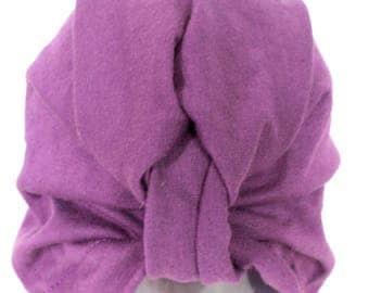 Purple Kids Turban, Toddler Turban, Infant Turban Hat, Baby Turban, Infant front twist hat, Kids Turban, Children Fashion Turban, Mommy Hat