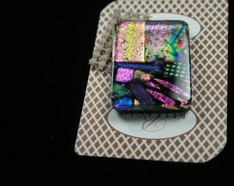 Handmade Fused Glass, Poker Card Protector, Poker Card Guard,  c49