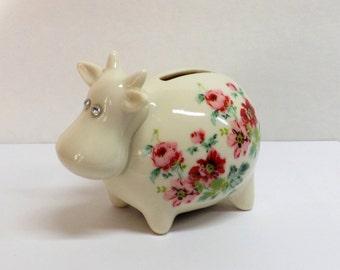 Items Similar To Vintage Owl Piggy Bank 1960s Ceramic