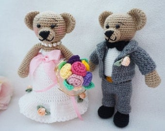 Married bear crochet pattern