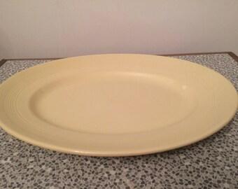 Large Wood's Ware Jasmine oval platter