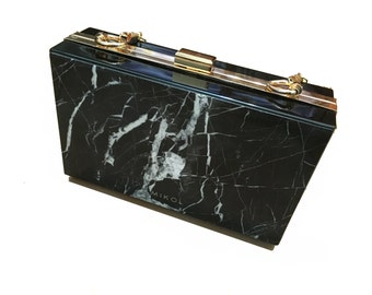 Marble Purse, Purse, Marble, Purse Organizer, Bags and Purses, clutch bag, Hard Clutch, Clutches