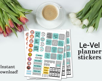 Level - Direct Sales Planner Stickers
