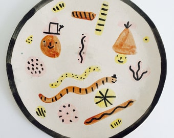 Sale - Playful plate 2