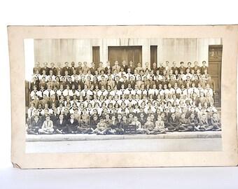 Vintage Class Picture - Vintage Class Photo - Vintage School Photo - School Decor -Brooklyn NY - Halsey Jr High - 1930s Photography Decor -