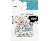 Dear Lizzy - Lovely Day Collection - Color Me Washi Tape - 1 Roll - 376963