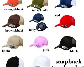 GD  Pick a SNAPBACK TRUCKER  hat!!!!