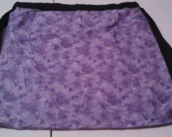 Purple Sparkle Drawstring Backpack