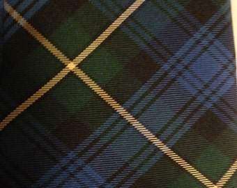Holland and Sherry Blackwatch Plaid Necktie