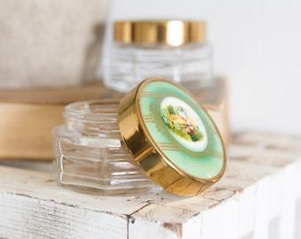 Vintage - Victorian Cold Cream Jars