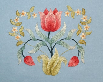 Silk Embroidery kit ~ MAY
