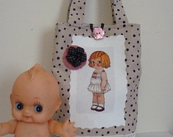 "Small bag ""paper doll"""