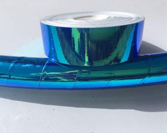 "3/4"" Ocean Transparent Hula Hoop Tape"