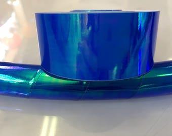 """1"""" Aquatic Opalescent Translucent Hula Hoop Tape"""
