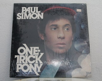 """Paul Simon -  """"One Trick Pony"""" vinyl record"""