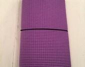 ClassicJot - Spring Violet FitJot - Regular Wide Traveler's Notebook
