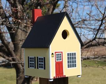 Cabin Bird House