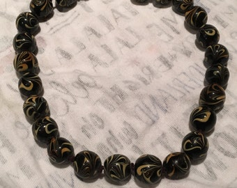 Caramel Swirl Necklace