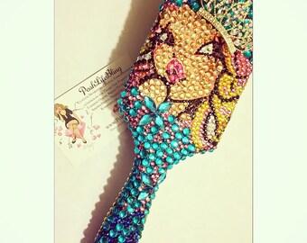 Crystal PoshLife Bling Vegas Bling Hairbrush (LG)