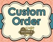 Custom Listing for Cina