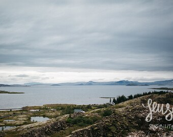 Landscape Photography, Lake Photo, Iceland, Nature Photography, National Park, Relief - A View