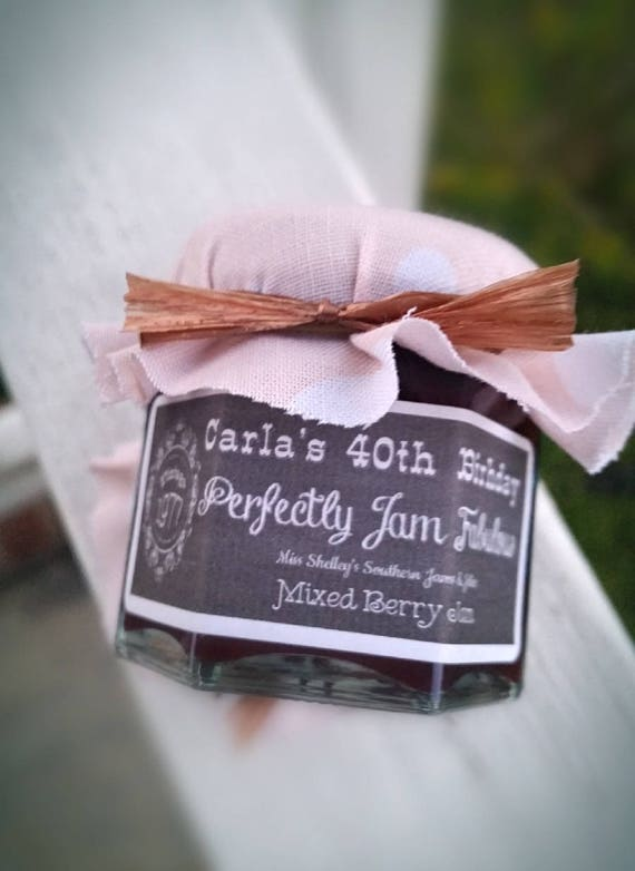 40th Birthday Party Favor Milestone Birthday Favors Blush Rose