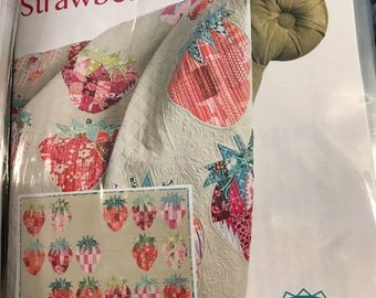 Mod Strawberries by Sew Kind Of Wonderful