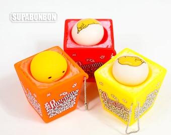1 pcs / Decoden / Miniature / Yummy Cute Popcorn / Gudetama / Charm / 6CM / CN913