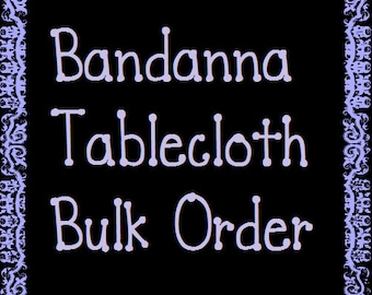 Tablecloth Bulk Order   Party   Birthday   Wedding   Baby Shower