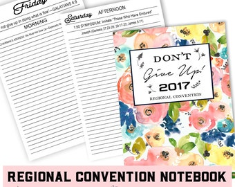 Convention Notebook -  jw ministry - jw convention notebook - jw pioneer gifts - best life ever - jw pioneer - happiertogive -